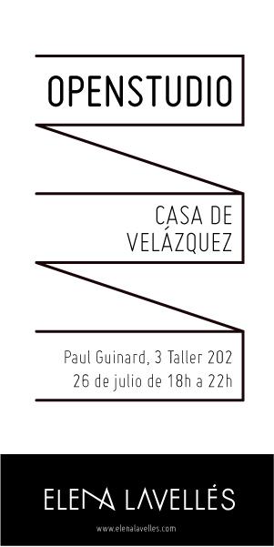 Open Studio Casa de Velázquez